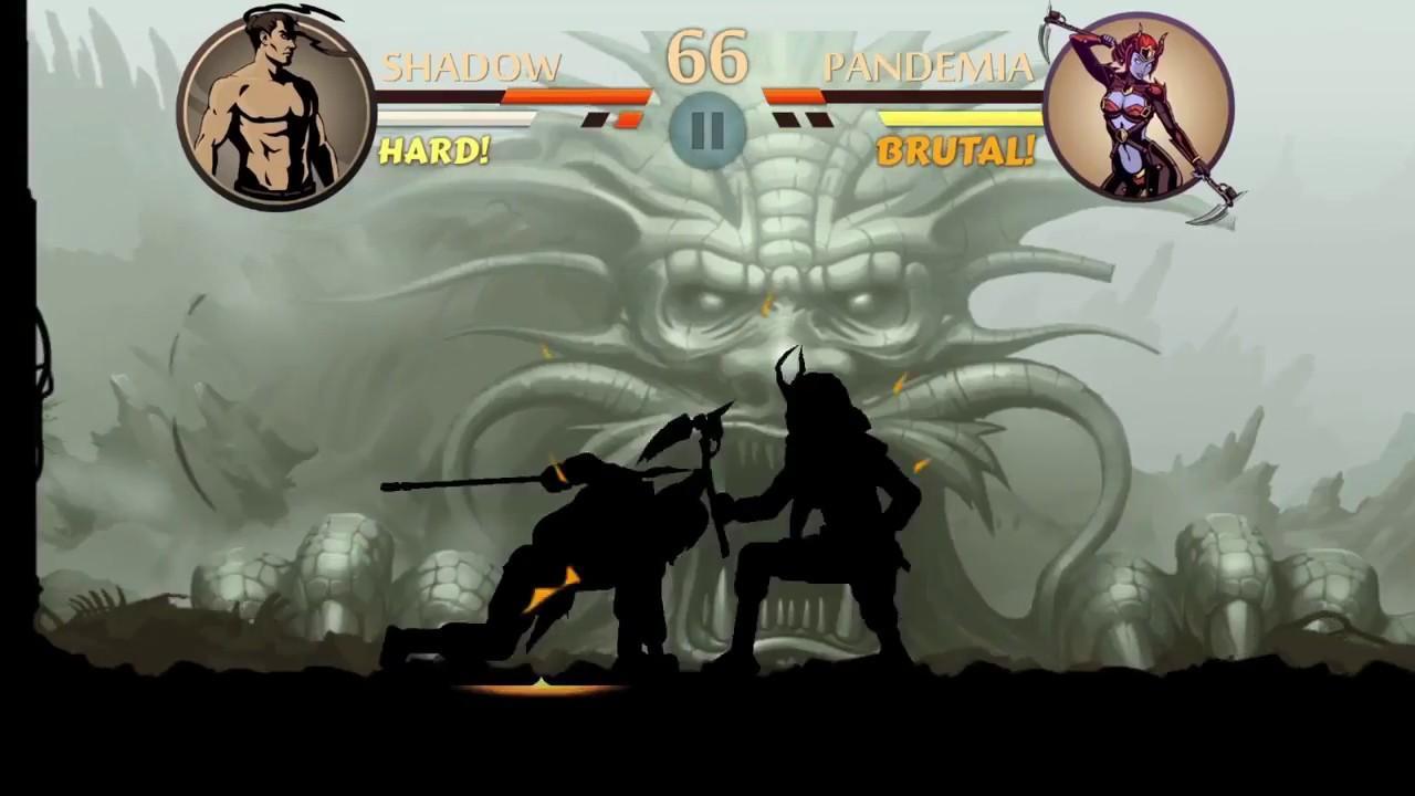 взломанную shadow fight 2 на ios